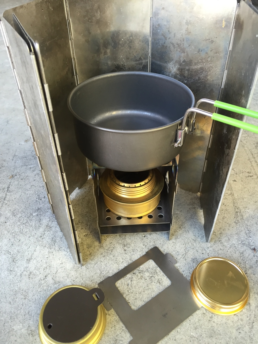 Trangia Spirit Burner With Screwcap Review Camping