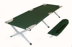 Big Bear Military %22AIRCRAFT GRADE%22 Aluminum Frame Cot