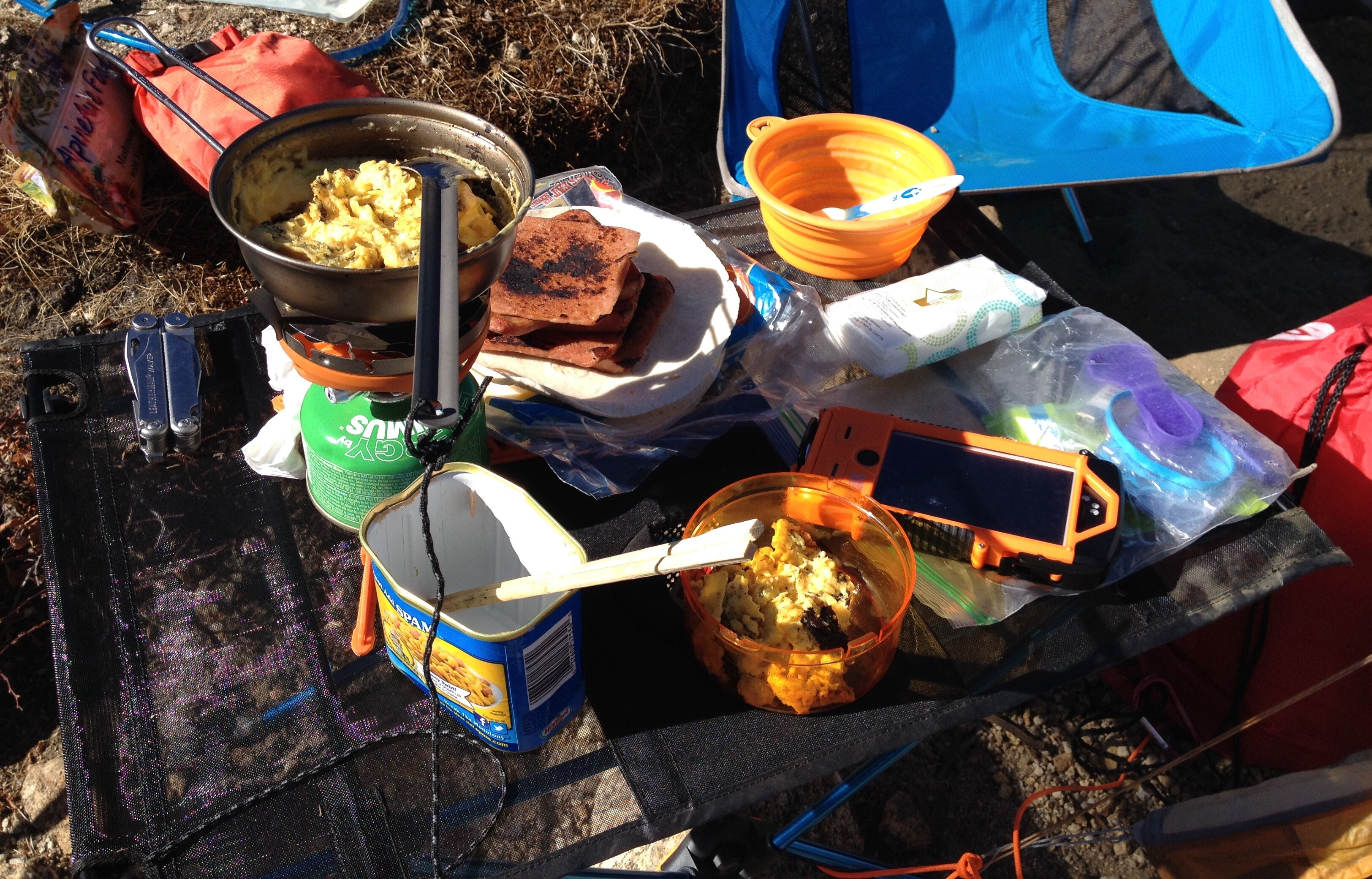 Helinox Table One Review Camping Stoves And Other Gear