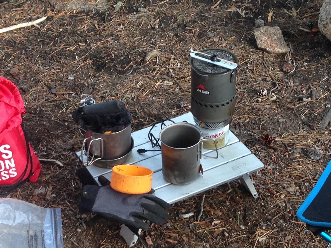 GSI Micro Hiking Folding Camp Table