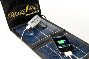 StrongVolt Solar-6 6Watt Folding Solar Kit